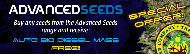 Free Cannabis Seeds - Latest Offers - Advanced Seeds