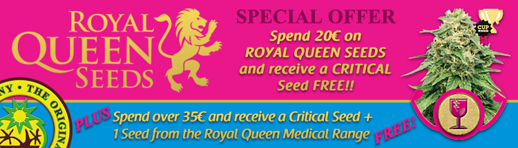 Marijuana Seed Promotions – Royal Queen Seeds
